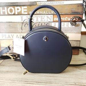 Kate Spade Blazer Blue Andi Canteen Crossbody Bag
